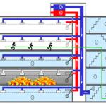 Yangın algılama ve uyarı sistemleri, duman kontrol ve tahliye fonksiyonları