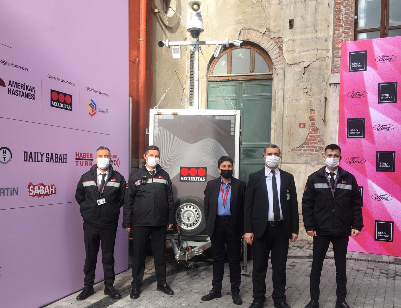 Securitas'tan sanata destek