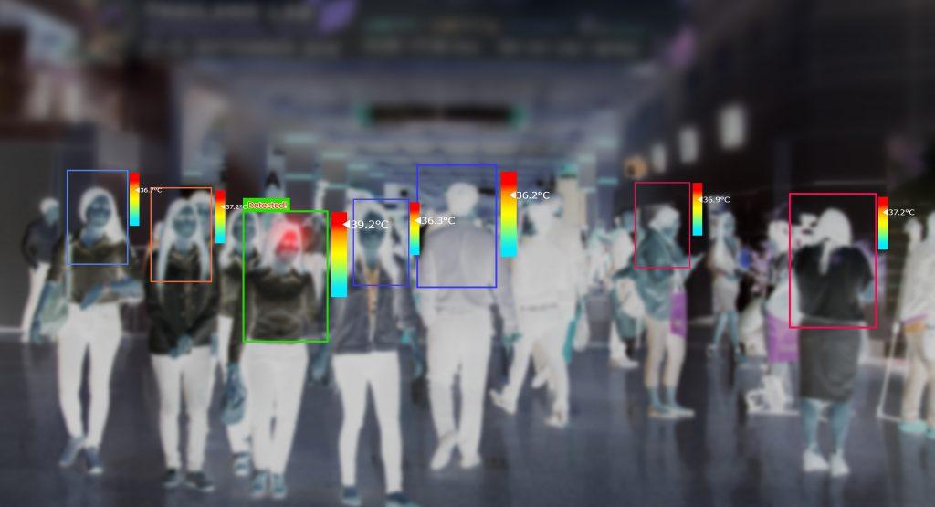 Termal kameralar virüse karşı tedbir almayı kolaylaştırıyor