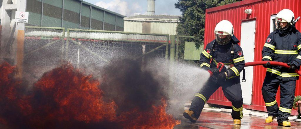 Endüstriyel tesislerde yangın güvenliği