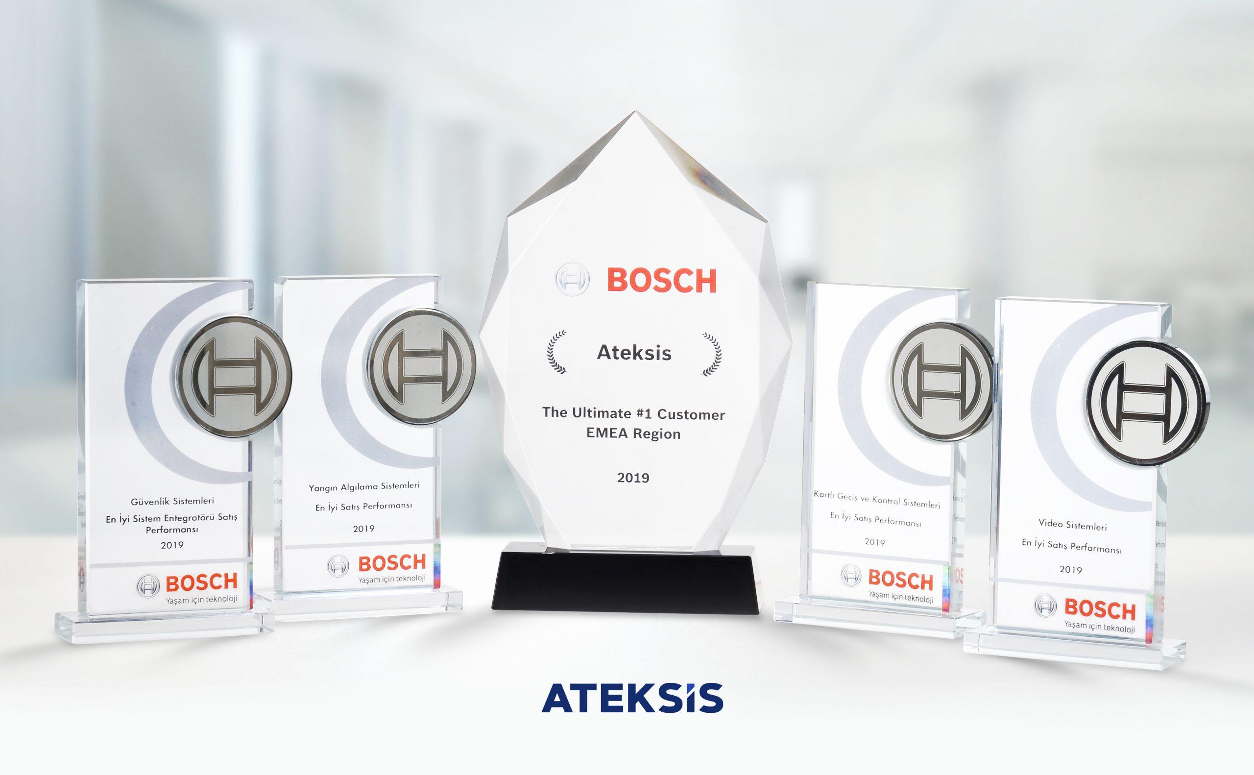 Bosch Bina Teknolojileri'nden Ateksis'e 4 ödül daha