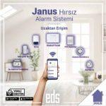 Hırsız alarm sisteminde yerli kablosuz çözüm: JANUS Hırsız Alarm Sistemi